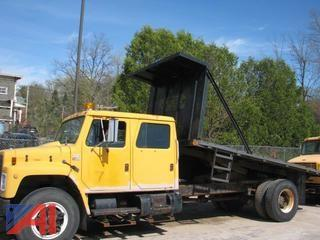 1987 International S1900 Flatbed Truck