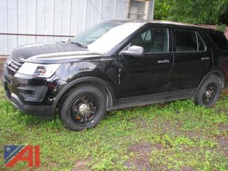 **5% BP** 2016 Ford Explorer SUV/Police Emergency Vehicle