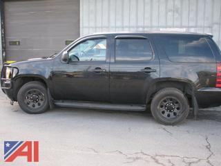 2012 Chevy Tahoe SUV/Police Emergency Vehicle