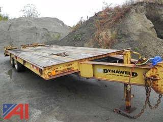 1999 Dynaweld Trailer with Ramps