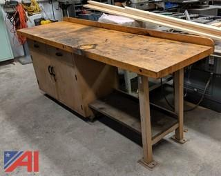Maple Top Work Bench