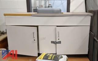 Cupboard Base & Sink