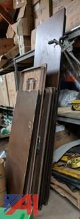 Various Folding Tables
