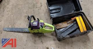 Poulan Wild Thing Chain Saw & Case