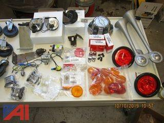 Lights, Spartan Dual Air Horn, and Other Miscellaneous Parts