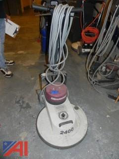(4) Maroon Minuteman Electric Burnisher