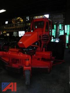 """Kut Kwick 88"""" Mega Slope Master - Model MSM83-88D - Commercial Land Clearing Slope Mower with Dual Rear Wheels"""