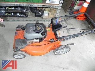 (7) Husqvarna 6522SH Push Mower