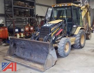 2003 Caterpillar 430 Backhoe with Bucket, Extendahoe and Attachments