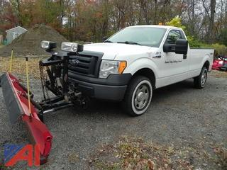 2009 Ford F150 Pickup Truck with Plow and Lift Gate