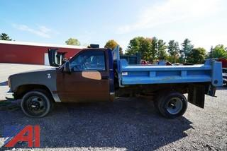 1995 Chevy Cheyenne 3500 Dump Truck