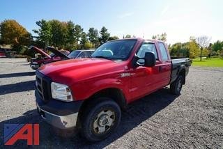 2006 Ford F250 Super Duty Extended Cab Pickup Truck