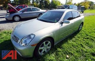 2003 Infinity G35 4 Door Coupe
