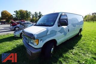 2001 Ford E250 Cargo Van