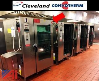 (Unit #1) Cleveland OGB-20.20 Convotherm Full Size Gas Oven Steamer