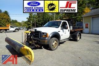 2005 Ford F550 Super Duty Dump & Plow Truck