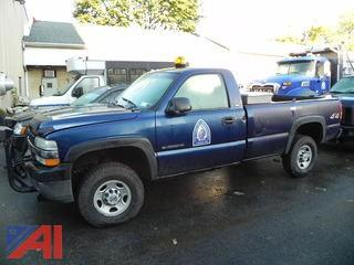 2001 Chevy Silverado 2500HD Pickup Truck