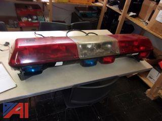 Federal Street Hawk Roof Light Bar and Code 3 Siren/Light Controller