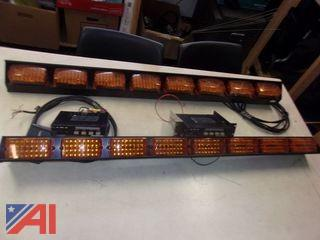 Federal Signal Master Traffic Arrow Light Sticks and Controllers