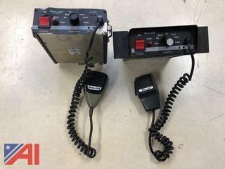 Siren Controllers/Amplifiers and Speakers