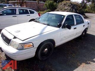 2008 Ford Crown Victoria Sedan/Police Emergency Vehicle