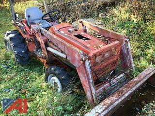 2002 John Deere 345 Riding Mower and 1994 Massey Ferguson Hydrostat Tractor