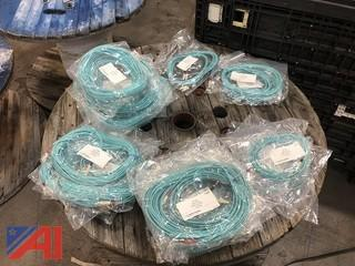SC to ST, Duplex, OM3 Multimode Patch Cable