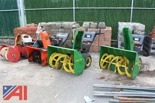 John Deere, Ariens and Dynamark Snow Blowers