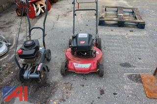Toro Mower & Craftsman Edger