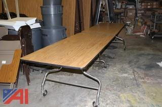 (19)Cafeteria Tables
