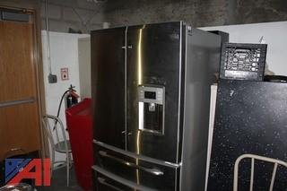 GE Profile Refrigerator with Ice Maker