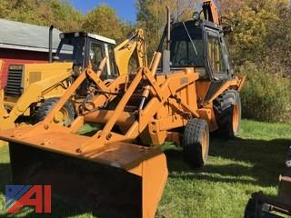 1981 Case 580D Backhoe Loader
