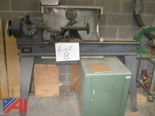 Reiner/Oliver Wood Lathe with Attachments