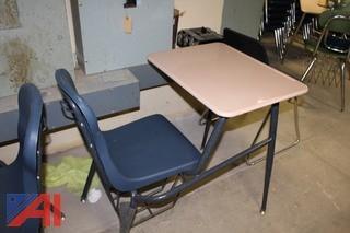 Assorted School Desks