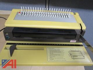 GBC Electric Comb Binding Machine