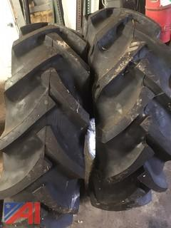Rear AG Tractor Tires and Tubes, New/Old Stock