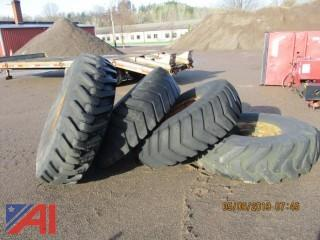 Large Construction Tires and Rims