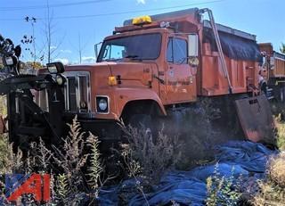 1999 International 2574 Dump Truck with Plow & Sander