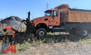 2004 Mack CV713 Dump Truck with Plow & Spreader