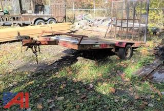 1988 Utility Trailer with Ramp