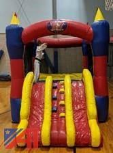 Bounce House - Magic Combo 10 Commercial Inflatable Bouncer with Slide