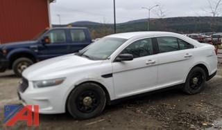 2014 Ford Taurus 4 Door/Police Vehicle