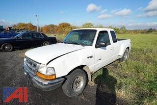 1998 Ford Ranger Super Cab Pickup Truck/203