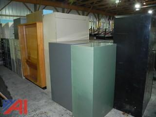 (#8) Filing Cabinets and Book Shelve