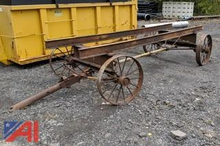4 Wheeled Wagon Cart