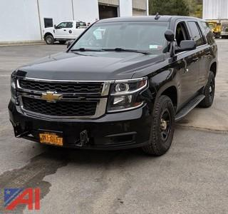 2015 Chevy Tahoe Suburban/Police Package