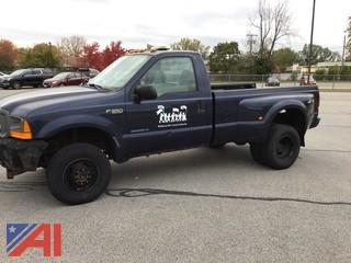 2001 Ford F350 Pickup Truck