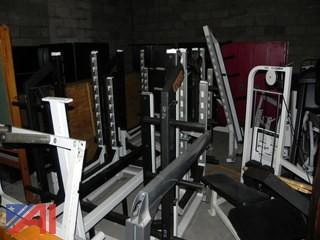 Various Cybex Weight Room Equipment