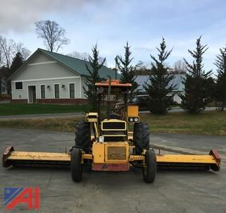 1990 Case 885 Mowing Tractor