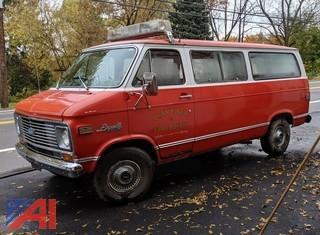 1972 Chevy Beauville Sportvan 20 Van